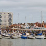 Bridlington Harbour Scene