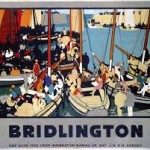 Bridlington Railway Poster Harbour Yachts