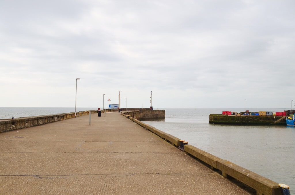 Bridlington North Pier and Harbour Entrance