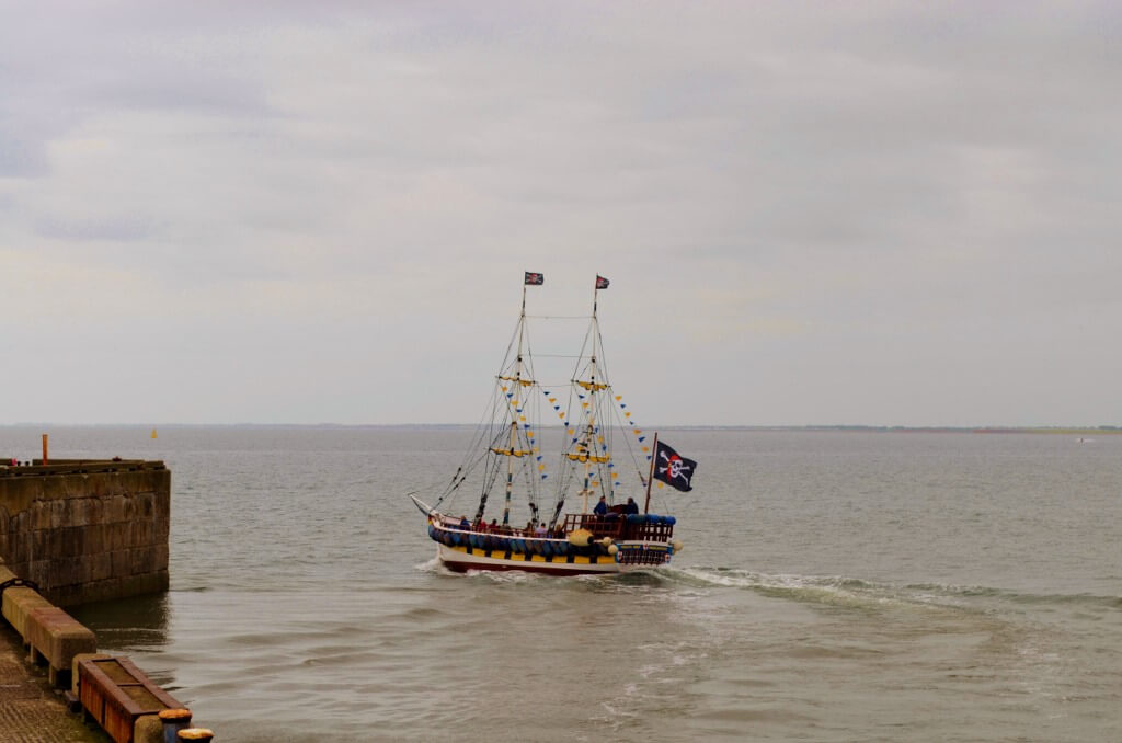 Bridlington Pirate Ship Sailing