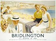 Bridlington Railway Poster North Beach Wall