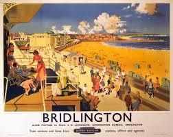 Bridlington Railway Poster North Beach